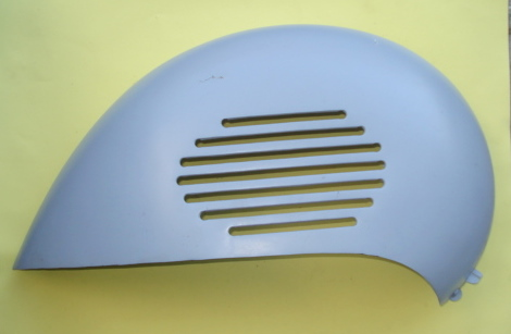 Side panel, engine side, Vespa 150 GS / Touren