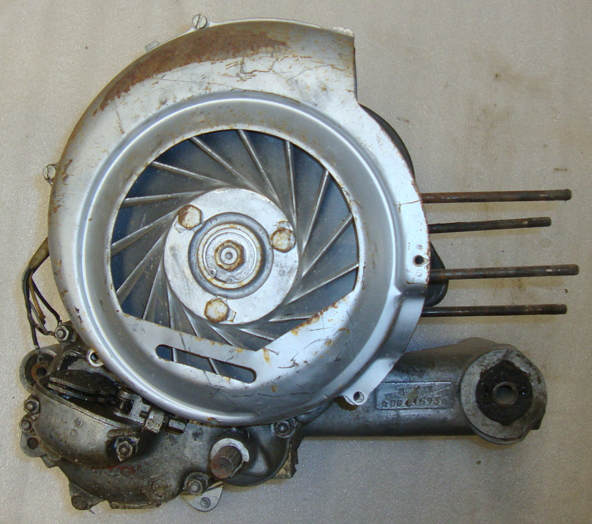 Engine, Vespa GS 160 VSB1M*0044593*