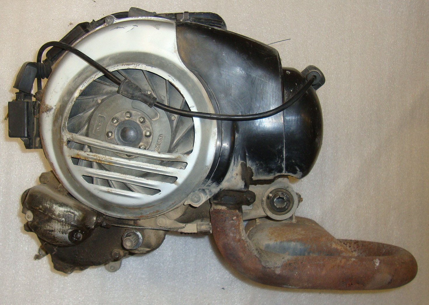 Engine, Vespa P 125 X VNX1M *187889*