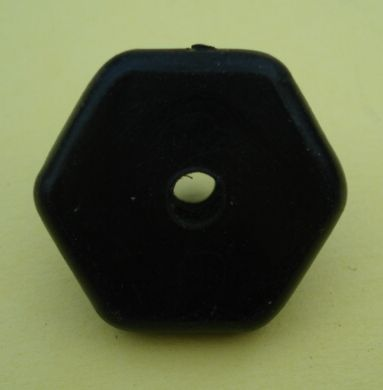 Guide ring for filler cap Vespa / Ape, black