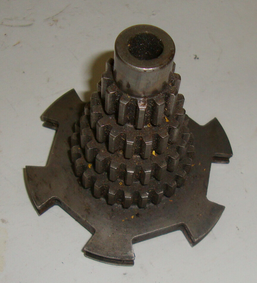 Gear cluster, Vespa GS 150, 12 - 16 - 20 - 24, used