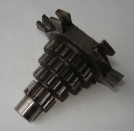 Gear cluster, Vespa PX 80 / 100, 10 - 14 - 19 - 23, used