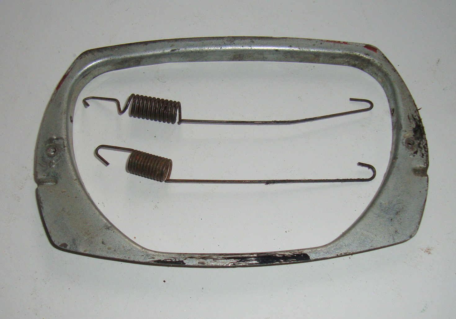 Rim and springs for headlamp set Vespa 50 Special / Elestart