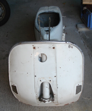 Chassis, Vespa PX