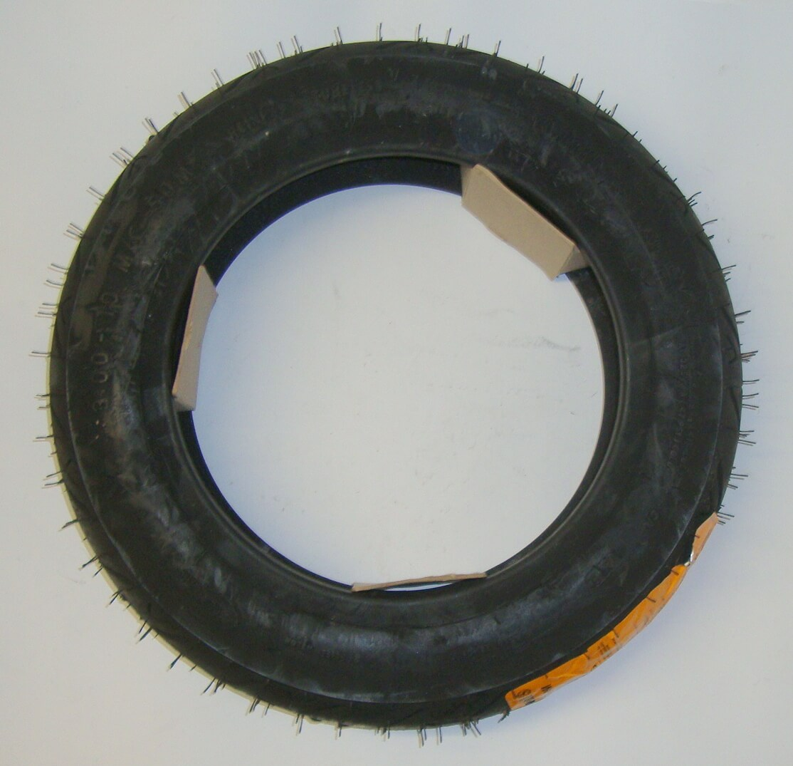 Whitewall tire, CONTINETAL, Conti Twist, 3.50 x 10 M /C 50 M reinforced