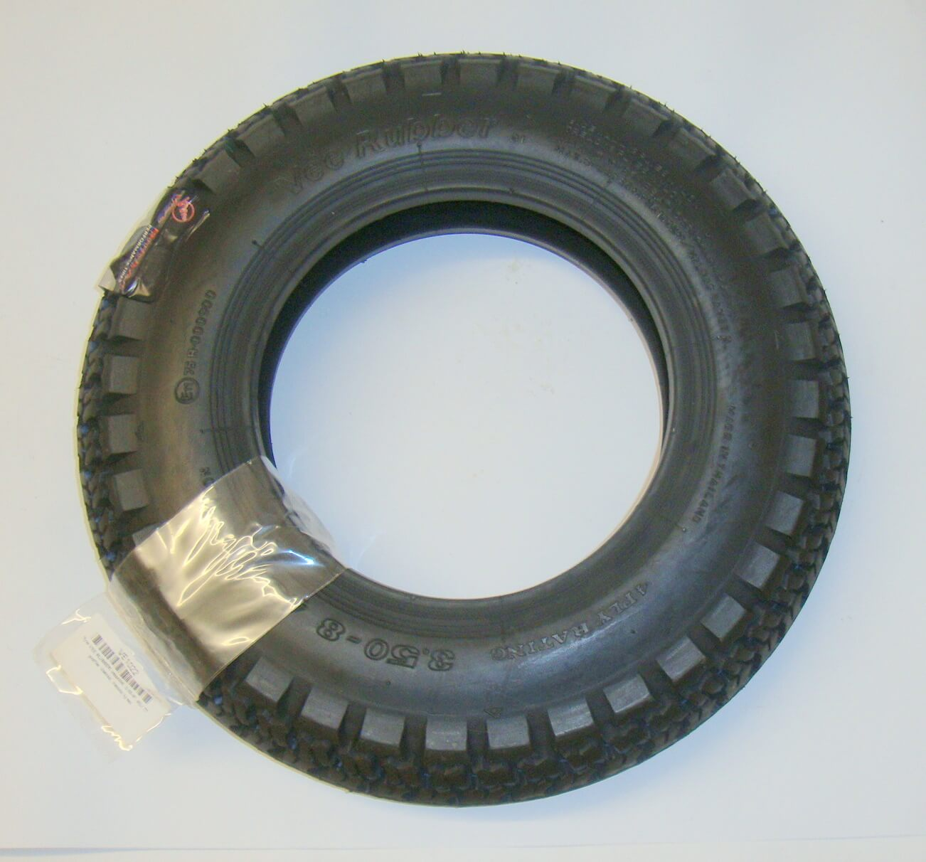 Tire, VEE RUBBER, 3.50 x 8 45 J TT