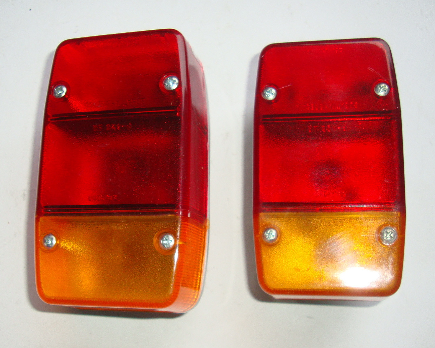 Taillights, Ape 50 / 250 / 350 / 400 / 500 / MP / MPV / TL / TM / Pentaro
