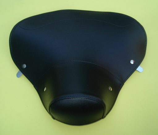 front saddle cover, Vespa 150 VL1T > VL3T / VB1T / VGL1T, black