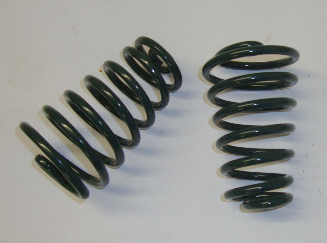 Springs kit, single saddle, dark green, Vespa 125 U VU1T - VN1T / Ape A1T > A15T