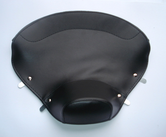 front saddle cover, Vespa 125 V30T > V33T / VM1T > VM2T, black