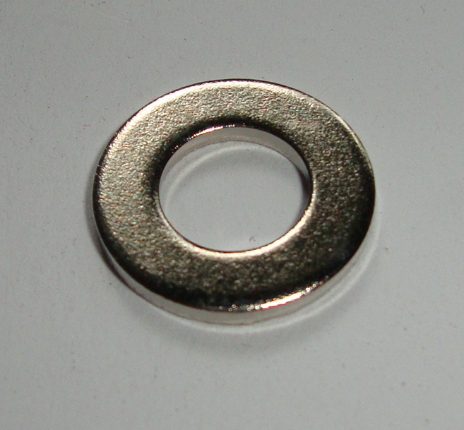 Washer 9,5 mm, nickel platet