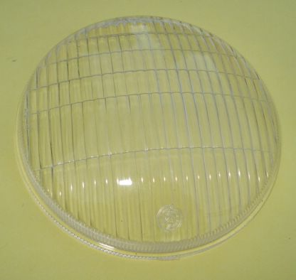 Glass for headlamp, plastic 95 mm