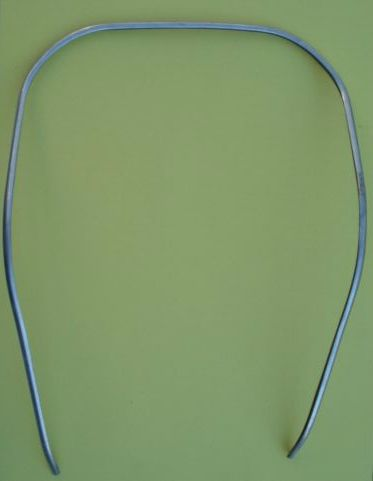 Aluminium shield border, Piaggio, Vespa 50 / 90 / 125