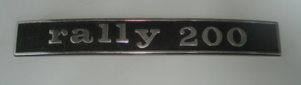 "Badge, ""Rally 200"", 2. Series"