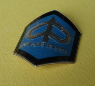 Piaggio-Logo, hexagon, small size