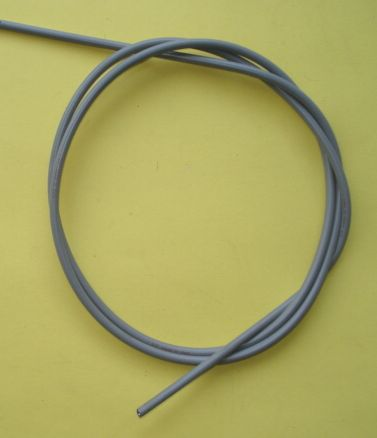Cable cover, 6 mm, grey