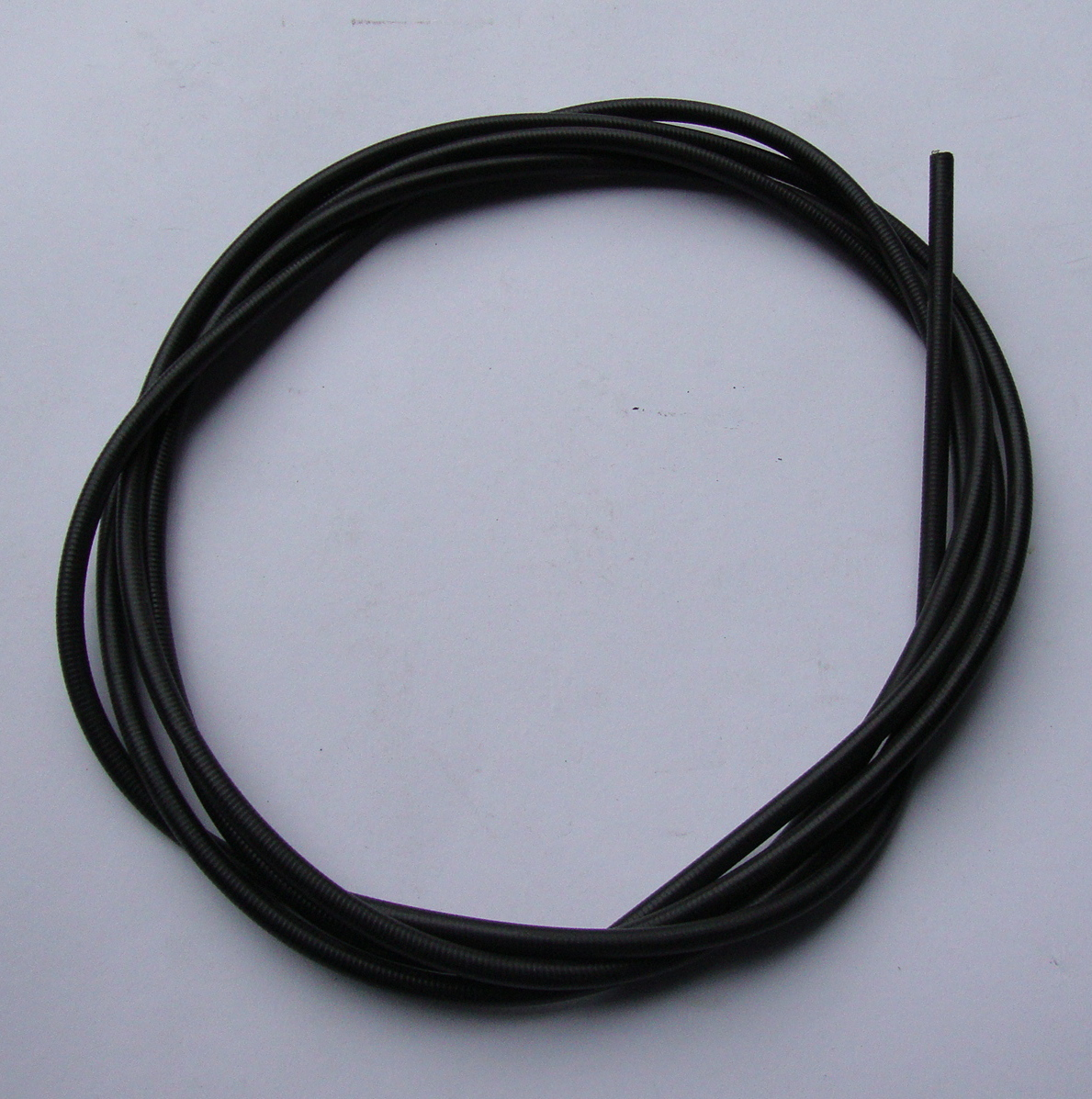 Cable sleeve, 7 mm, black
