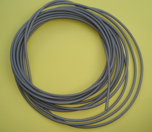 Cable cover, Vintage, grey, 5,0 mm, 10 meter