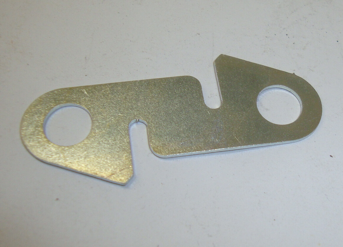 Securing plate for kickstart lever, Vespa 98 / 125 / 150 / Ape