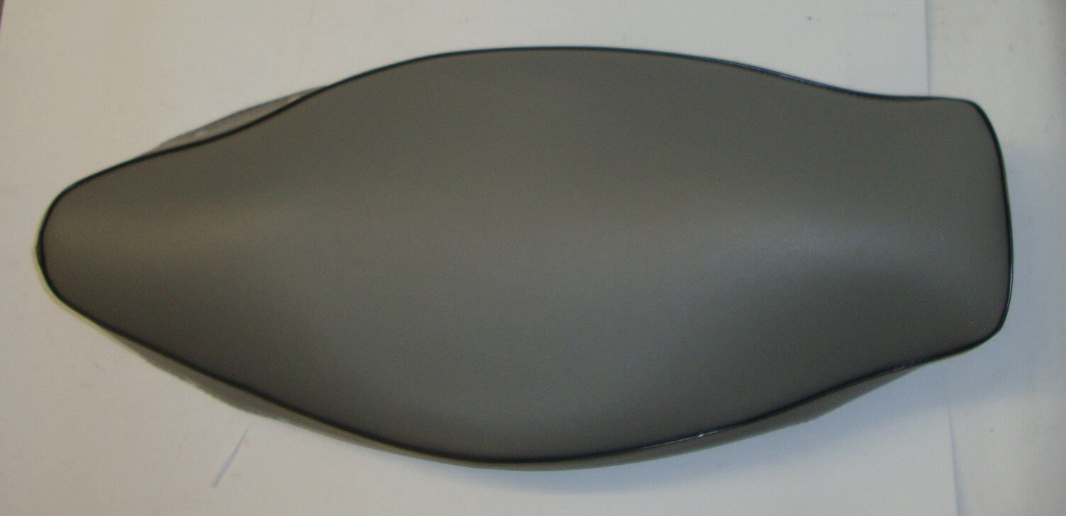 Dual seat cover, grey, Vespa 160 GS VSB1T > 0030200, 1962
