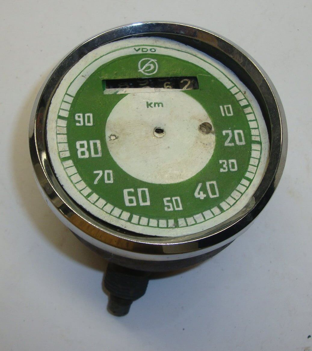 Speedometer, VDO, to be repaired, Hoffmann Vespa 125 HA - HB