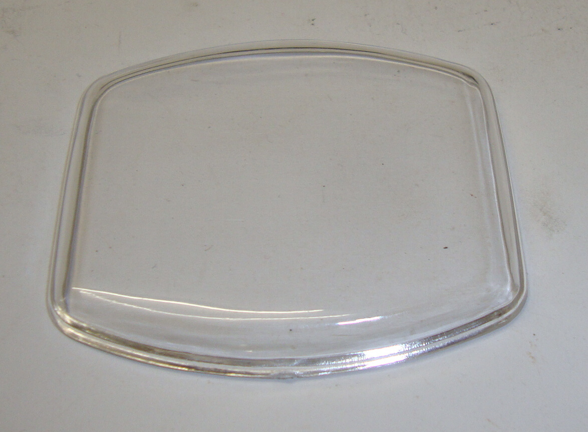 Glass for speedometer, Vespa VB1 / GS 150 , Veglia speedometer