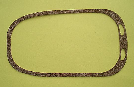 Gasket between tank and body, Cork, Vespa 125 VNA - VNB / 150 VBA / 160 GS/ 180 SS
