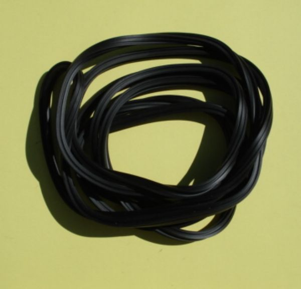 Rubber floor rail profile set, Vespa 50 / 90 / 125 / 150