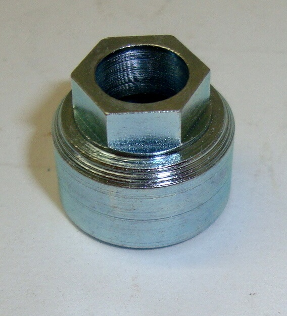 Ring nut for speedometer transmission, Vespa GS 160 / SS180, zinc platet