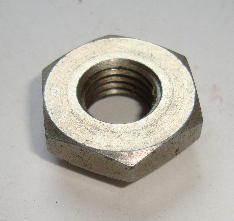 Nut for front wheel axle