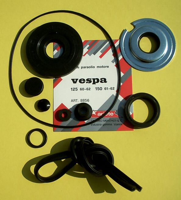 Oilseal and caburator kit, Vespa 125 / 150 1960 > 1962
