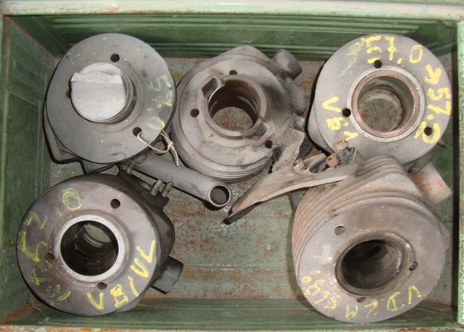 Different Cylinders, Vespa 125 VN - VM - VL - VB