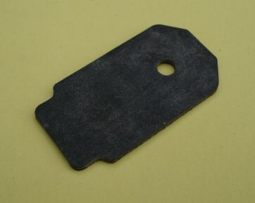 Gasket for stop switch, Vespa 50, 90, 125 PV, ET3,PK, PX, black