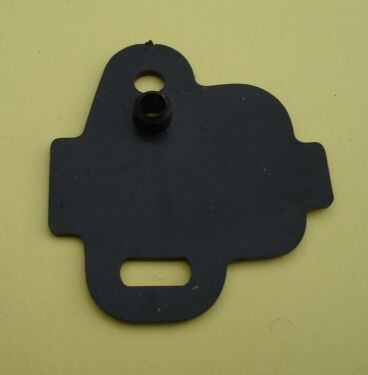 Gasket for stop switch, big, black
