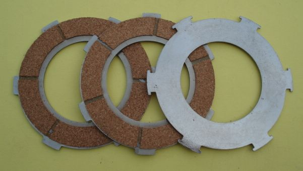 Clutch plate kit, SURFLEX, Vespa 80 / 125 / 150 1957 >