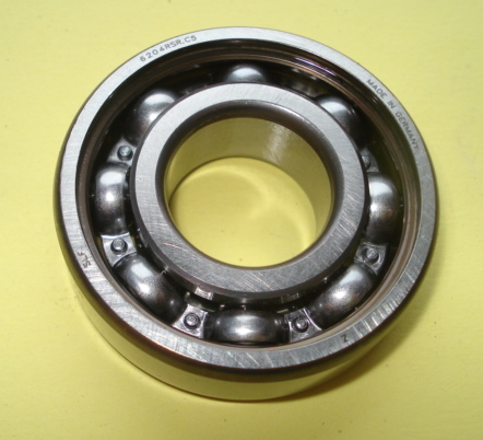 Bearing for crankshaft, 6204 C5,  flywheel side, Ape 50