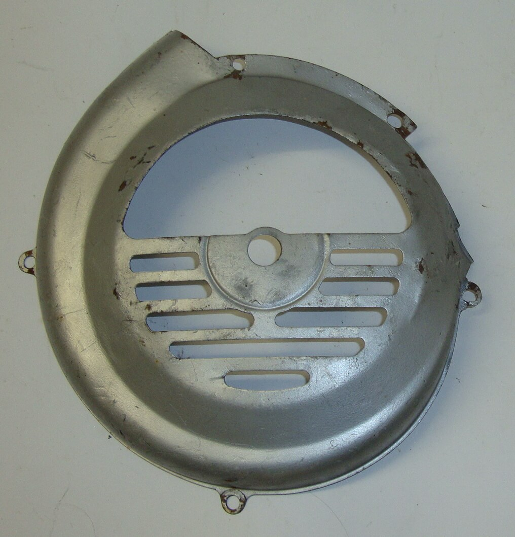 Flywheel cover, chromed, Vespa 50 / 90 / 100 / 125