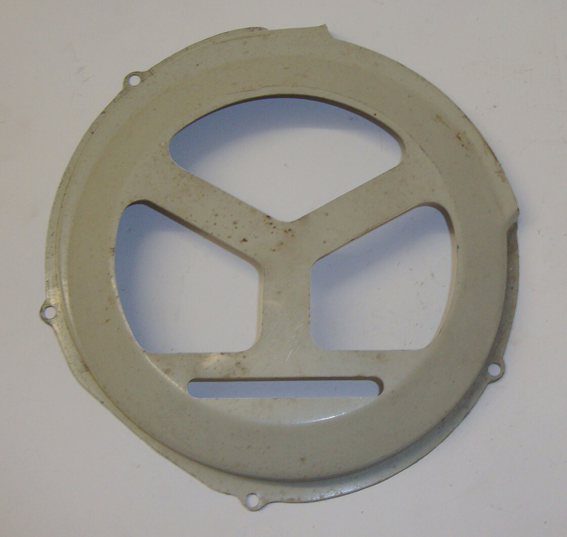 Flywheel cover, grey,  Vespa 150 VL1T, NOS