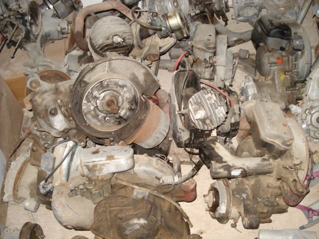 Engine, used