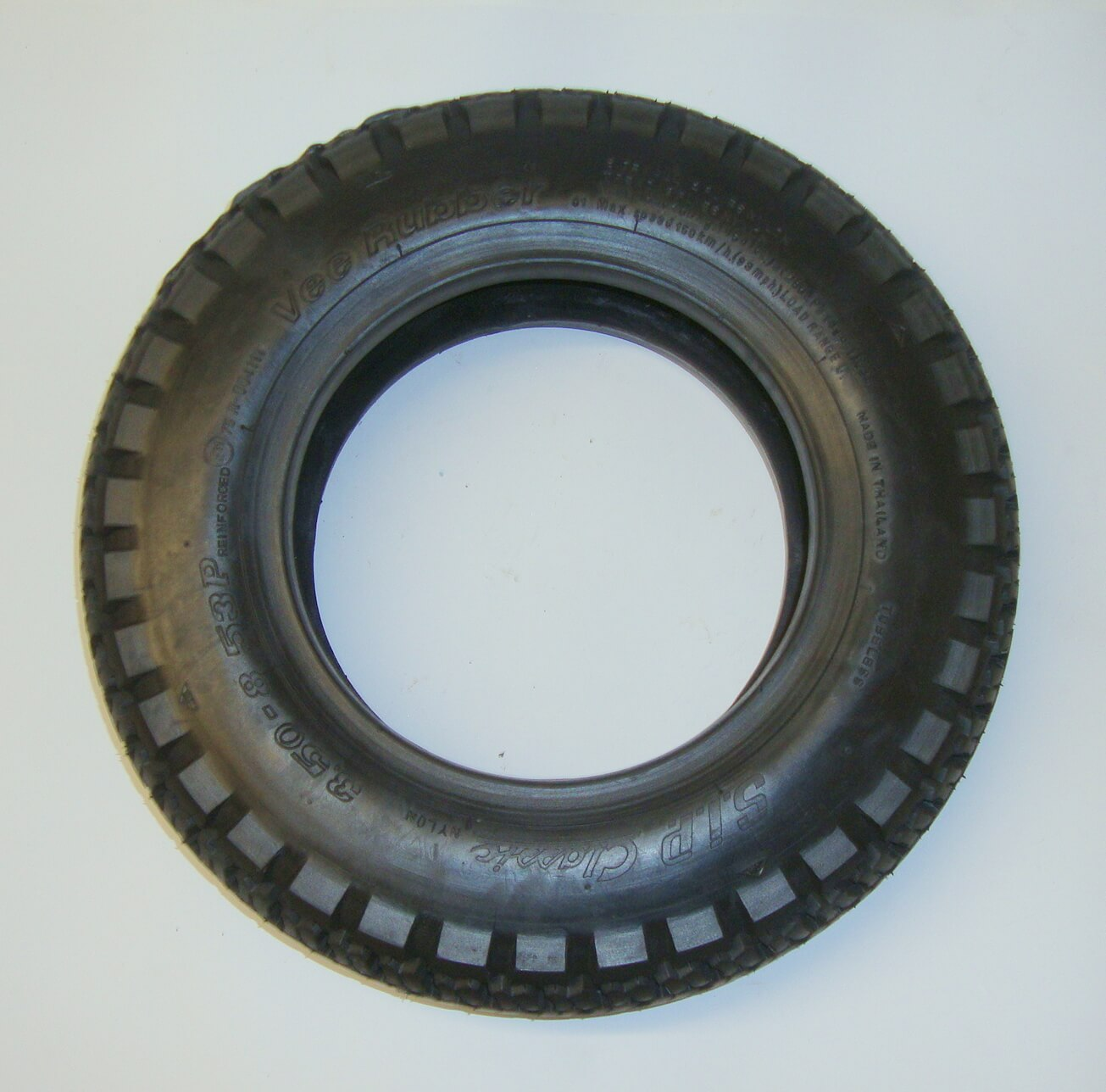 Tire, VEE RUBBER, SIP Classic, 3.50 x 8 53 P TL/TT reinforced ECE-R75 up to 150 km/h