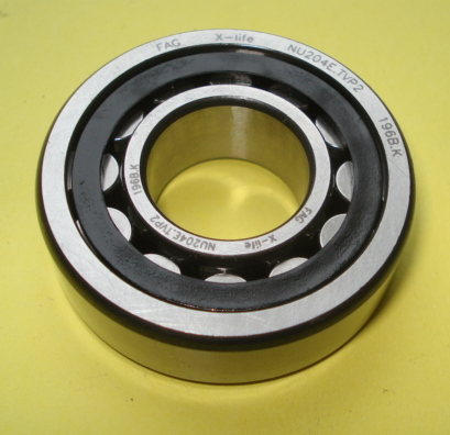 Bearing for crankshaft, flywheel side
