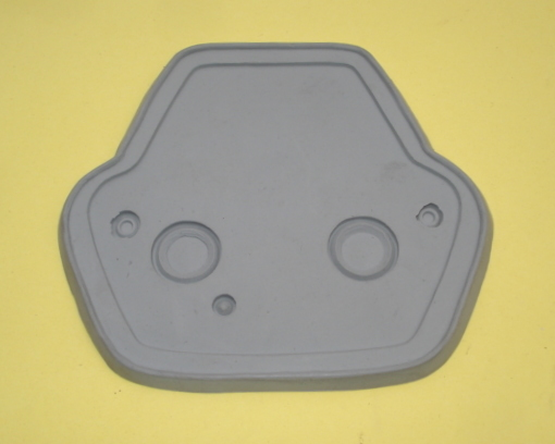 Gasket for taillight, HELLA, Vespa 160 / GS4, grey