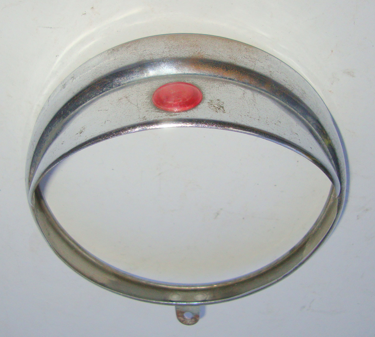 Rim for headlamp with visor, Vespa 125 VM1 > VM2 / VN1 / Ape 150 AB1T > AB3T