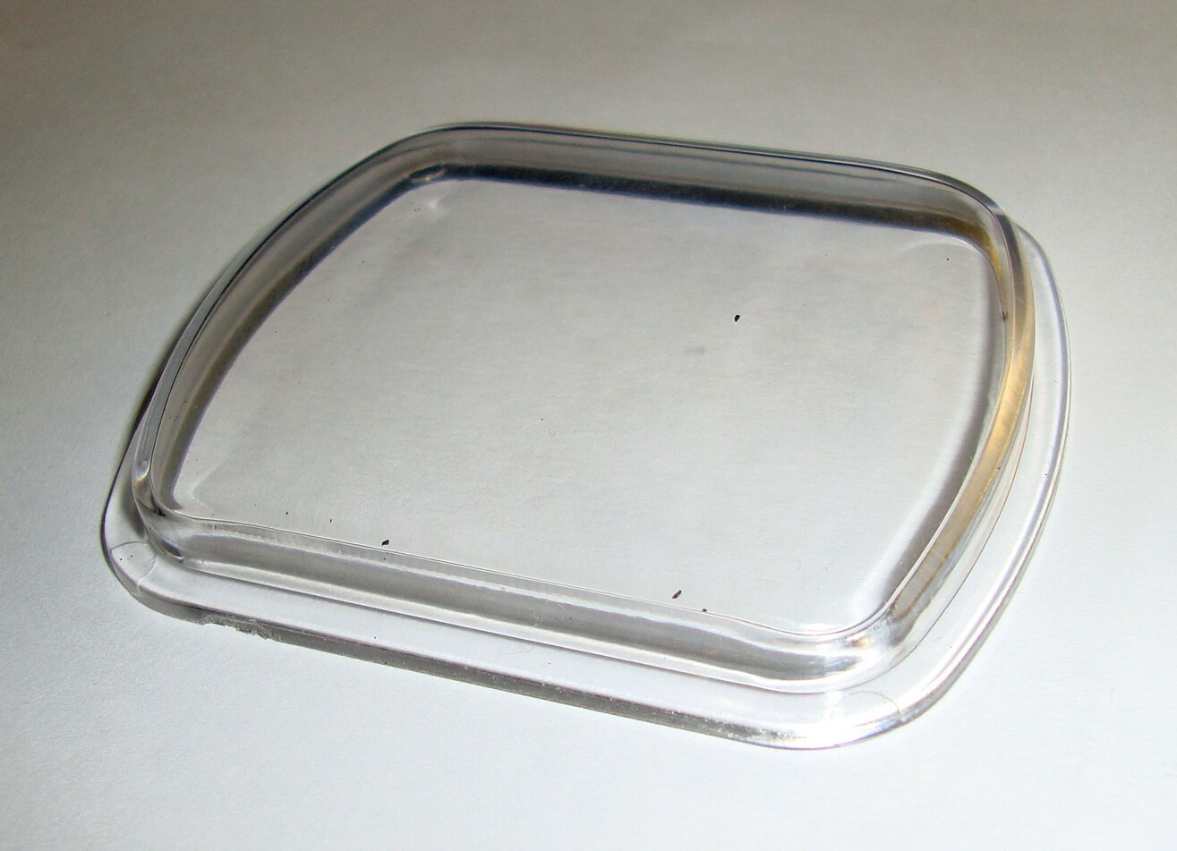 Glass for speedometer, Vespa 125 / 150 1951 > 1957