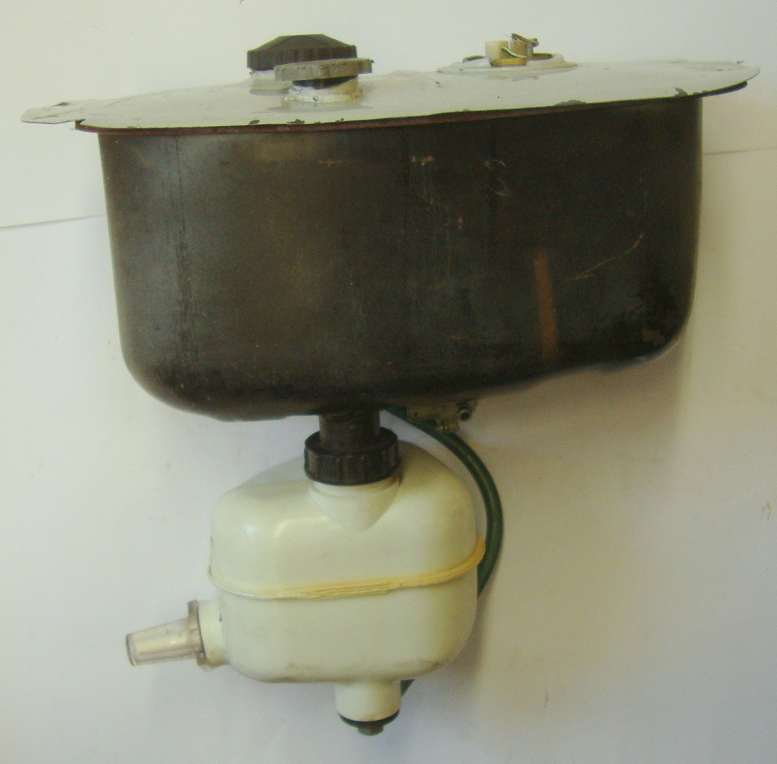 Fuel tank, complete with oil tank, Vespa PX/PE Lusso 80 /125 / 150 / 200