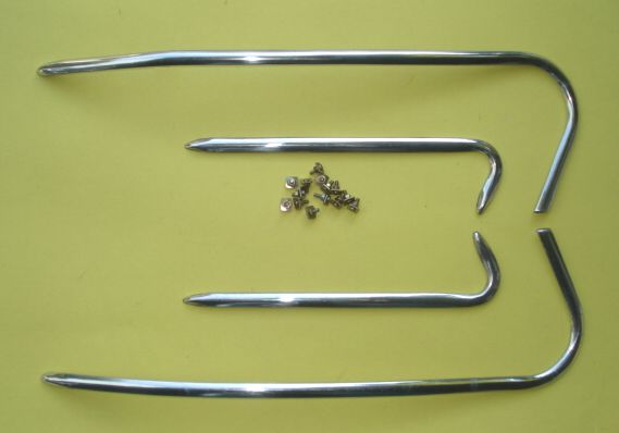 Cowl and mudguard decoration, Vespa GS 160