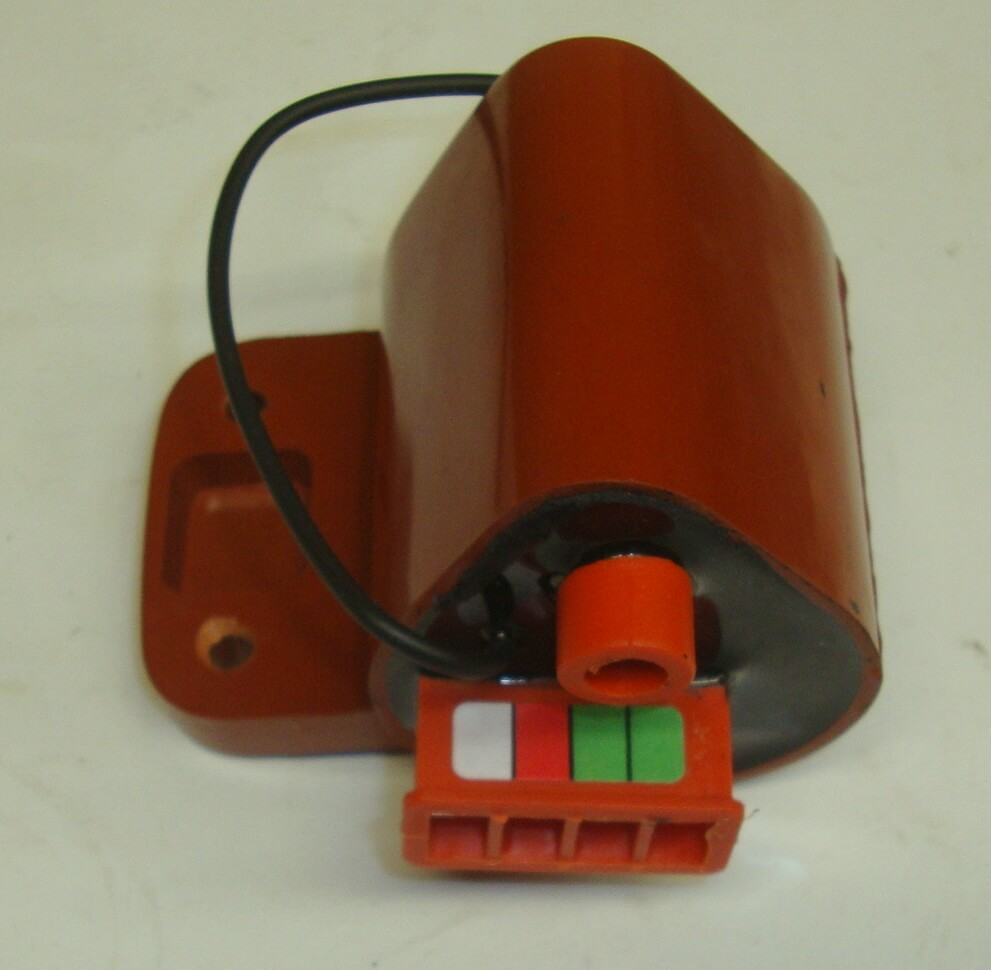 Electronic unit, SIP, for conversion electronic ignition, Vespa all models, Vintage Style, 12V, 4 connections